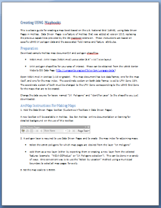 Download Create Mapbook Instructions