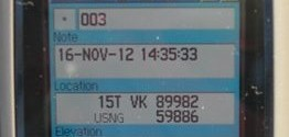 GPS with USNG